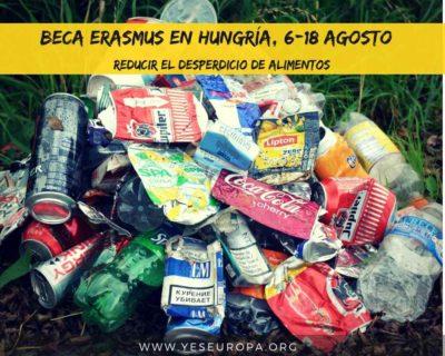 beca erasmus reducir el desperdicio de alimentos, Hungría
