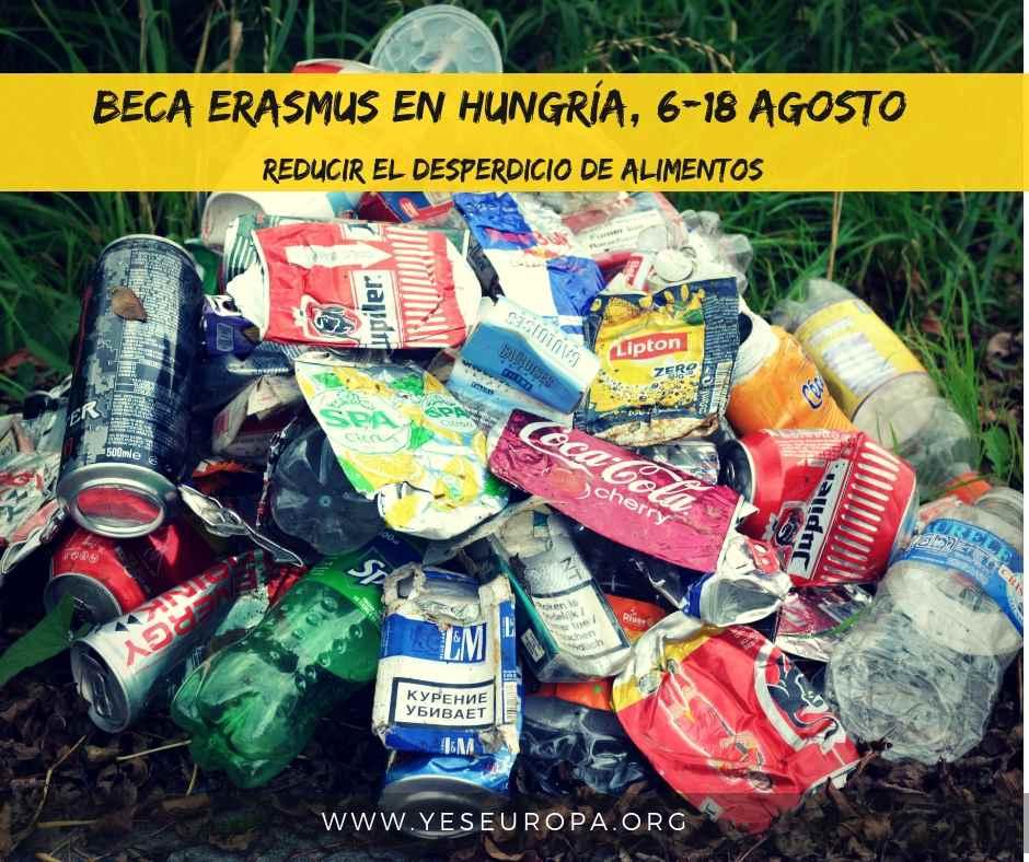 erasmus reducir el desperdicio