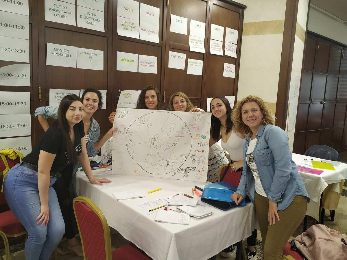 jóvenes españoles mejoran su CV