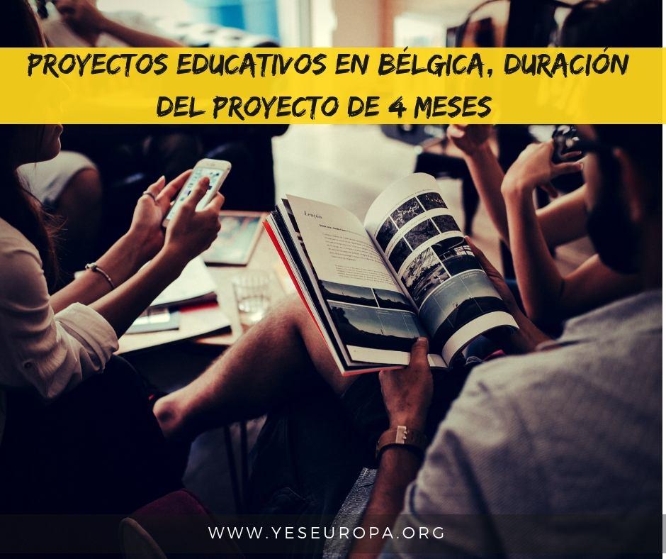 proyectos educativos en Bélgica