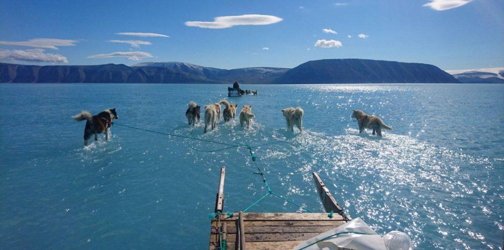 Eduquémonos en ser personas sostenibles (Fiordo de Inglefield Bredning, en Groenlandia. STEFFEN OLSEN, El Pais)