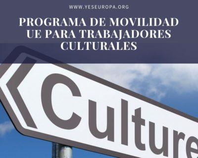 Programa de movilidad UE para trabajadores culturales