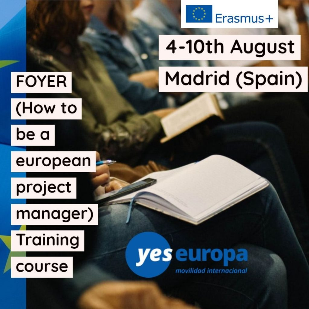 Project management for young europeans