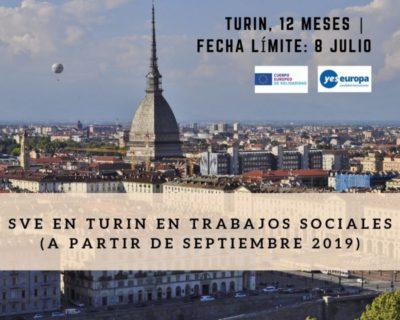 Ser Voluntario en Italia (trabajos sociales, septiembre 2019)