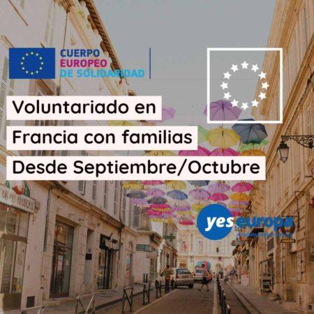 Voluntariado en Francia con familias