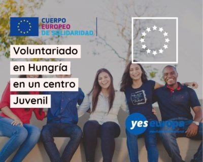 Voluntariado en organización Juvenil en Hungría