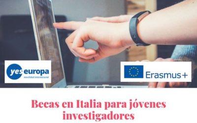 Becas en Italia para investigadores en julio