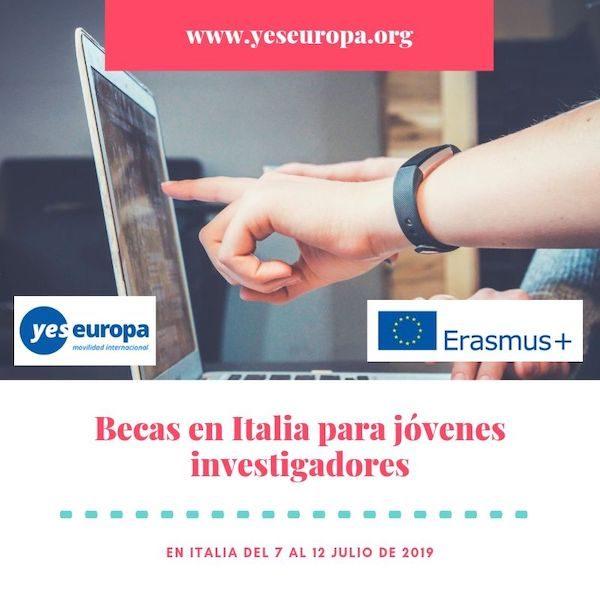 becas en italia jovenes investigadores