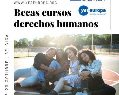 Becas cursos derechos humanos (Bélgica – octubre)