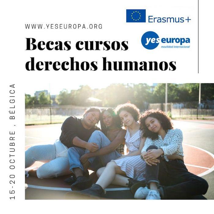Becas cursos derechos humanos