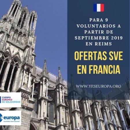 Ofertas SVE Francia para 9 voluntarios
