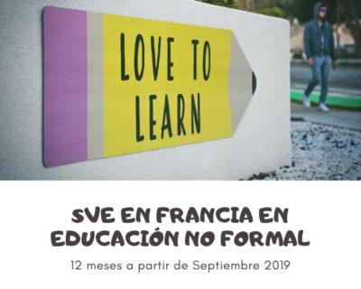 SVE en Francia en educación no formal
