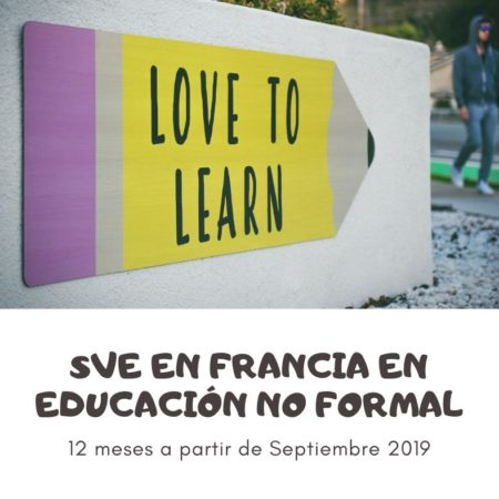 SVE en Francia en educación no formal