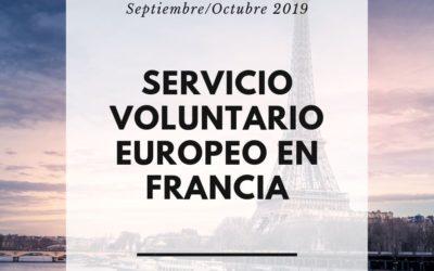 Servicio Voluntario Europeo en Francia