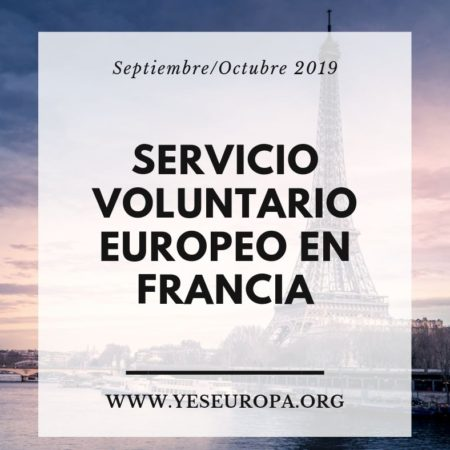 Servicio Voluntario Europeo en Francia
