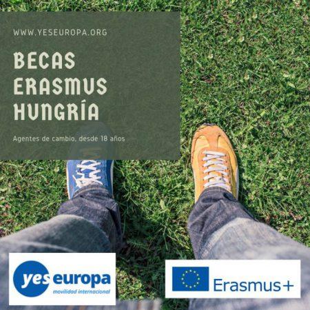 Becas Hungría Erasmus para jóvenes líderes