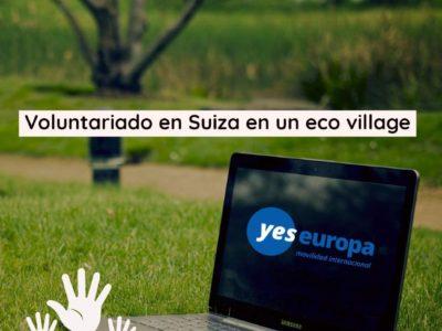Voluntariado en Suiza en eco-pueblo
