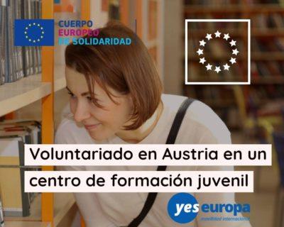 Voluntariado europeo en Austria – a partir de Octubre