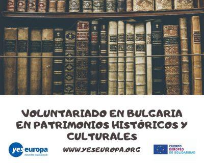 Voluntariado en Bulgaria en patrimonios históricos y culturales