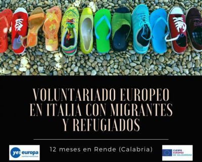 Voluntariado europeo Italia con migrantes y refugiados