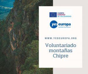 4 meses en voluntariado montañas de Chipre