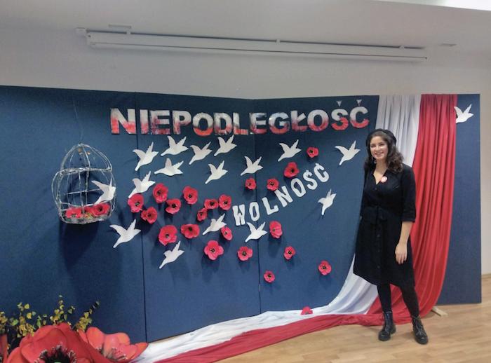 voluntarios vascos en polonia