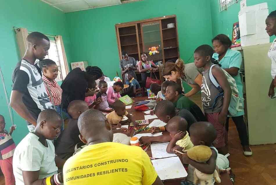 voluntariado mozambique niños