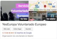 YesEuropa opiniones google