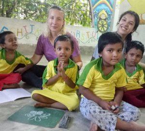 Experiencia voluntariado India
