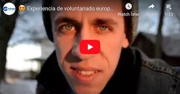Vídeos YesEuropa del Cuerpo Europeo de Solidaridad