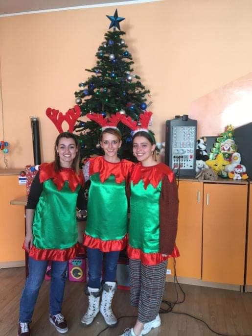 Nuestras voluntarias en Rumanía experiencia CES