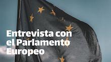 entrevista con el parlamento europeo