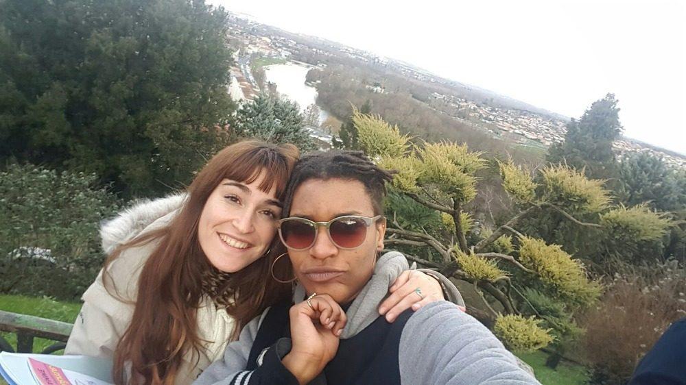 Sandra y su año de vida en Francia (1)
