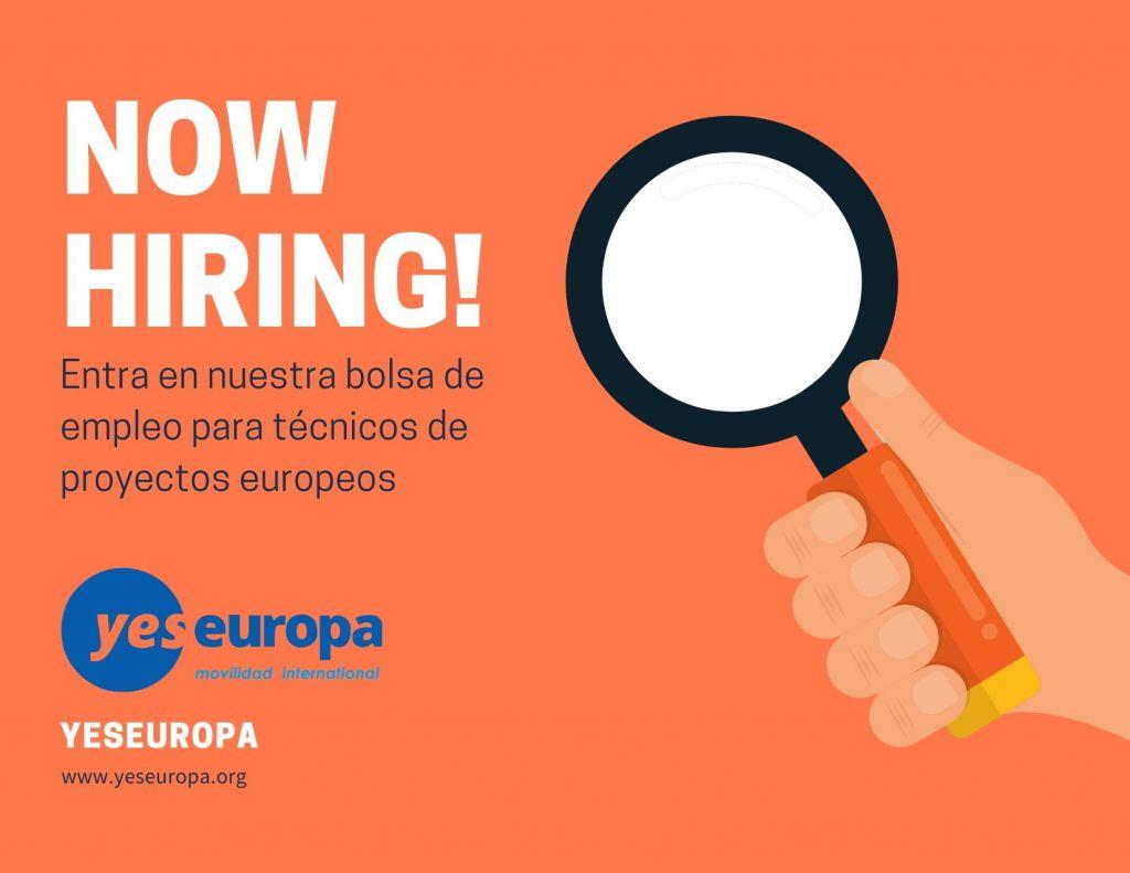 Técnico de proyectos europeos