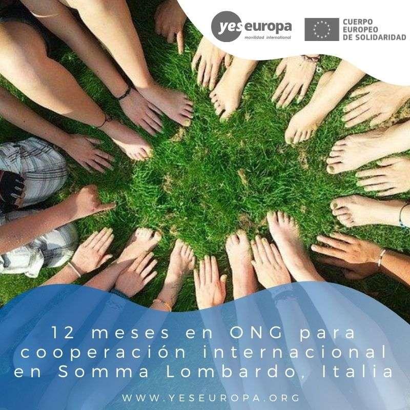 Redes voluntariado Somma Lombardo, Italia