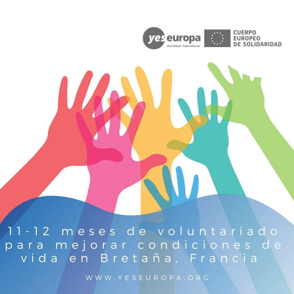 Redes voluntariado Bretaña, Francia