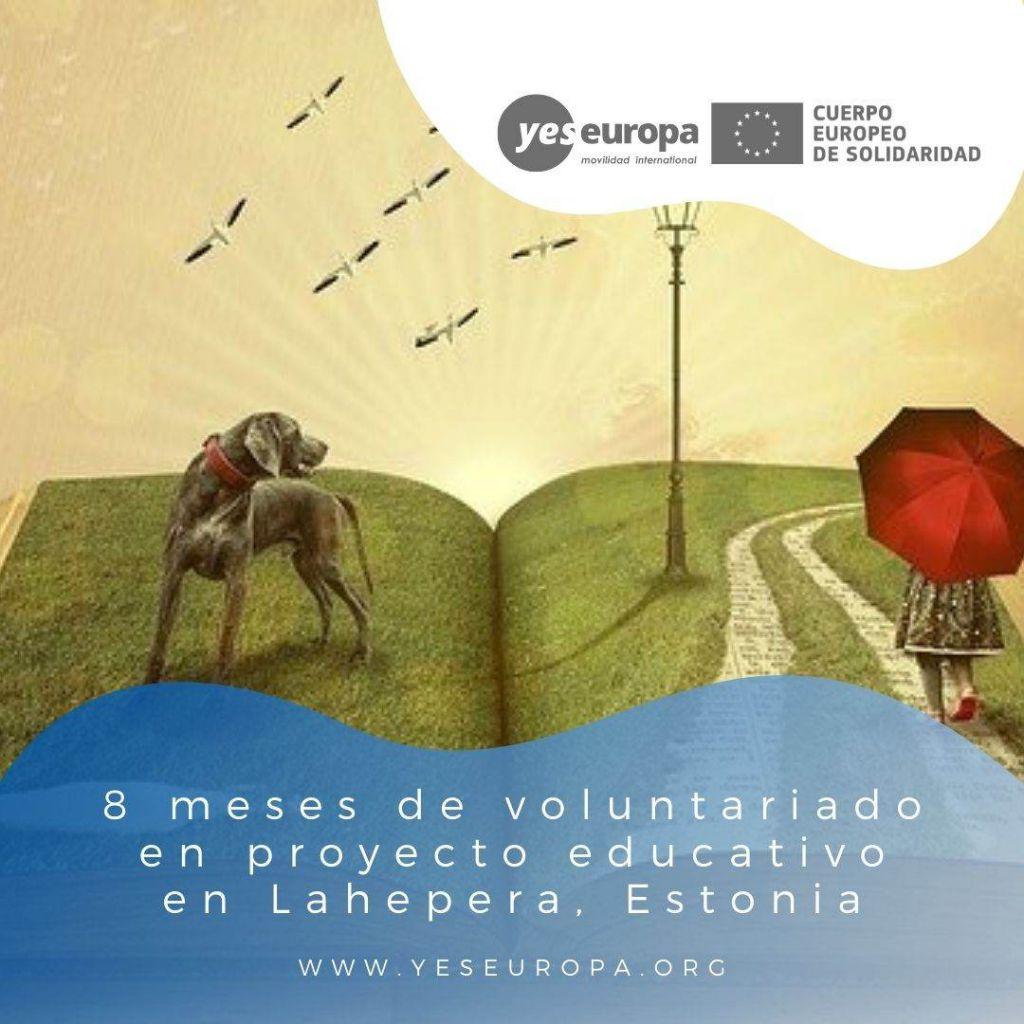 Redes voluntariado Lahepera, Estonia