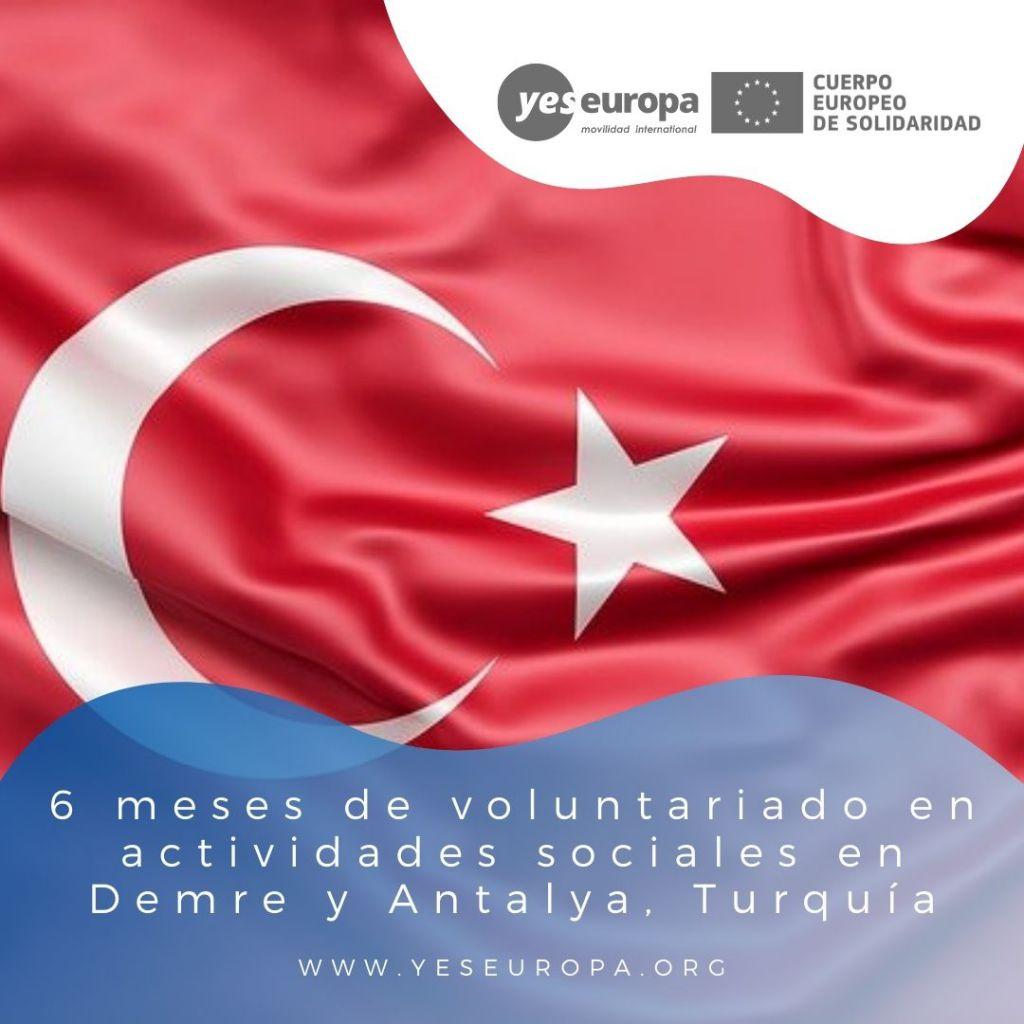 Redes voluntariado Demre y Antalya, Turquía