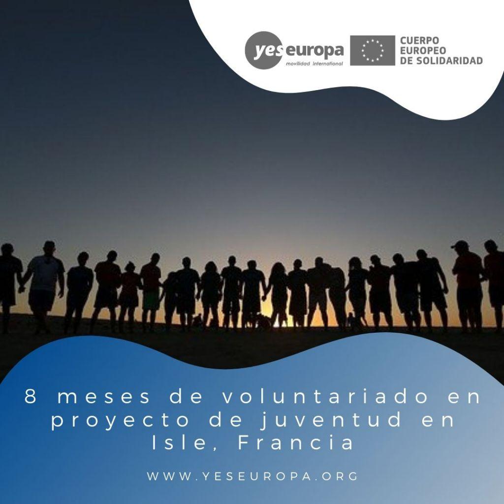 Redes voluntariado Isle, Francia