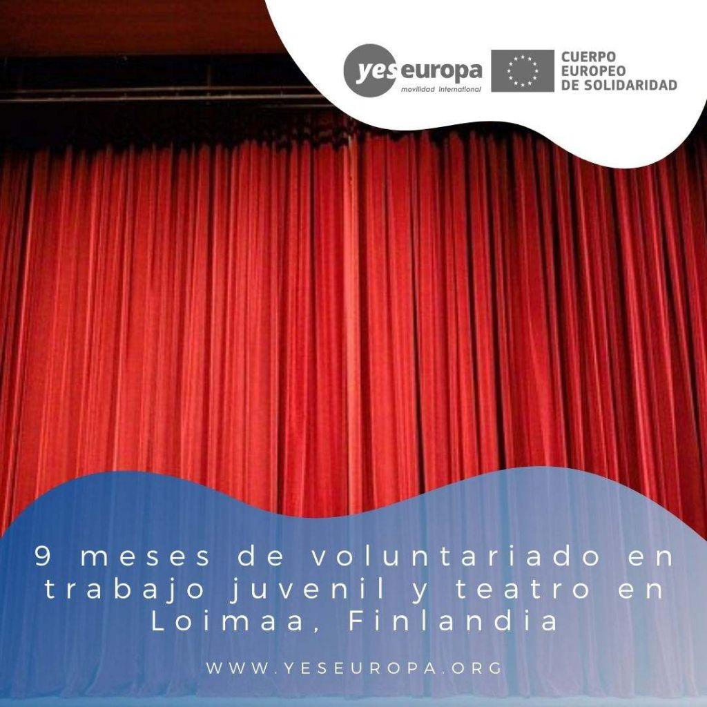 Redes voluntariado Loimaa, Finlandia
