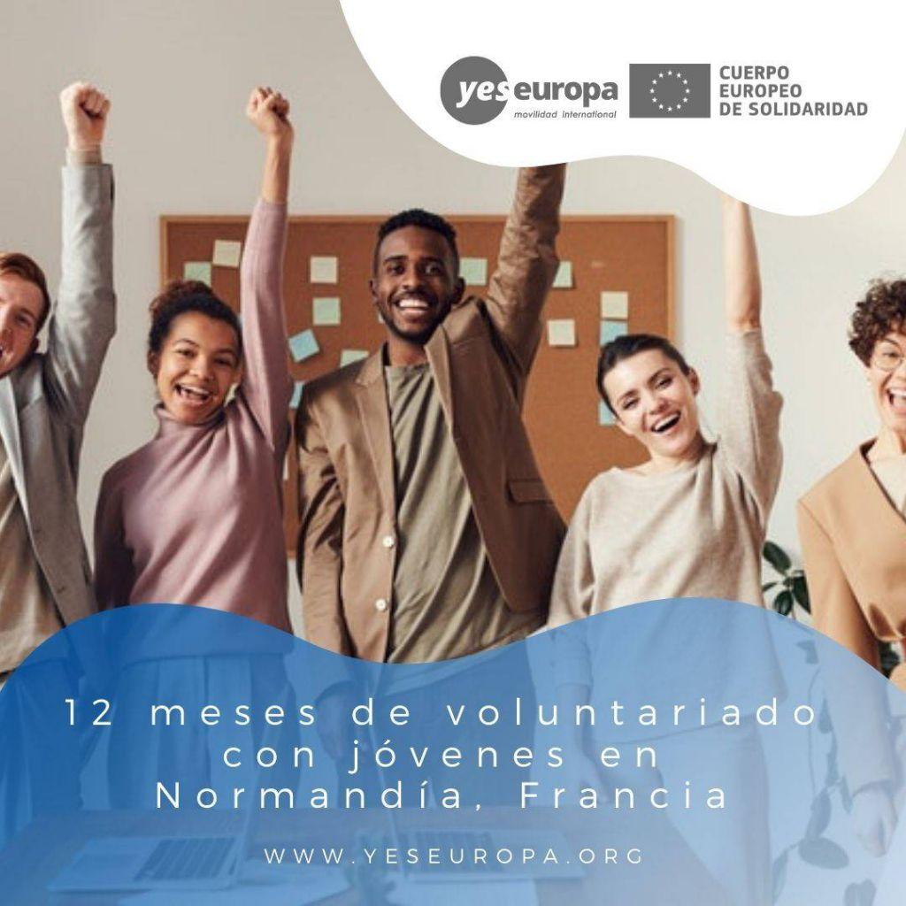 Redes voluntariado Normandía, Francia