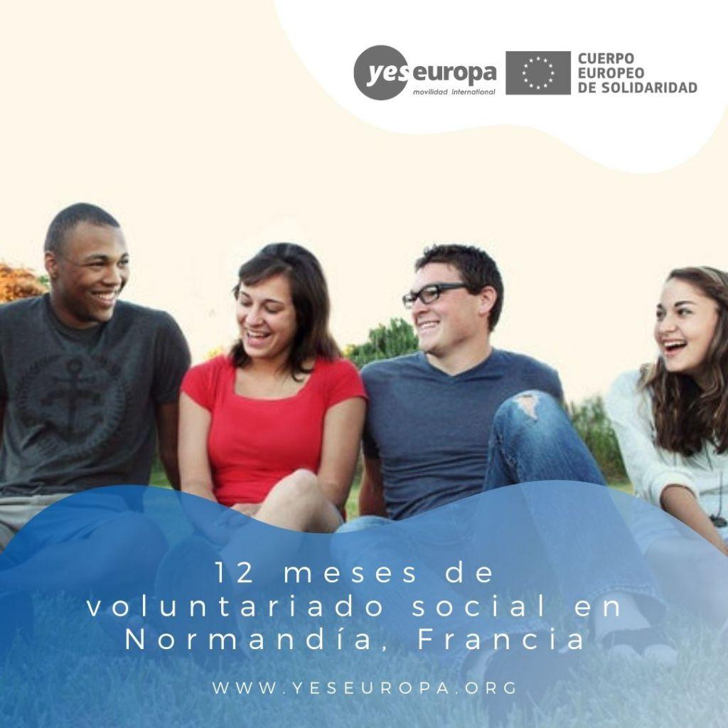 Redes voluntariado Normandía, Francia 2
