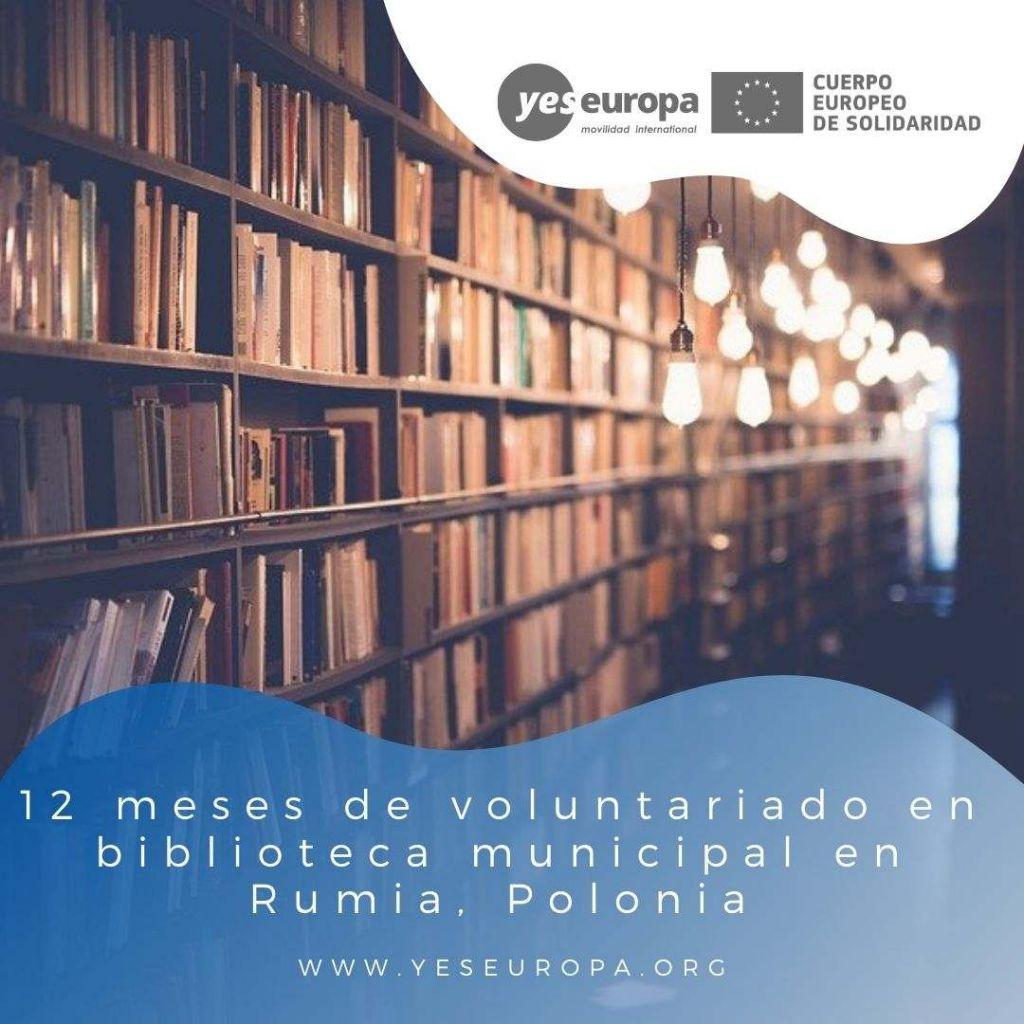 Redes voluntariado Rumia, Polonia