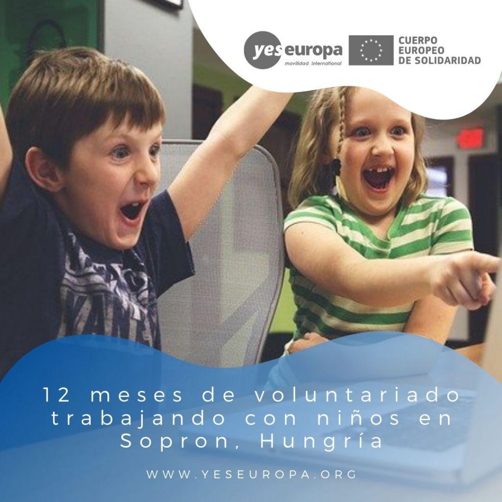 Redes voluntariado Sopron, Hungría