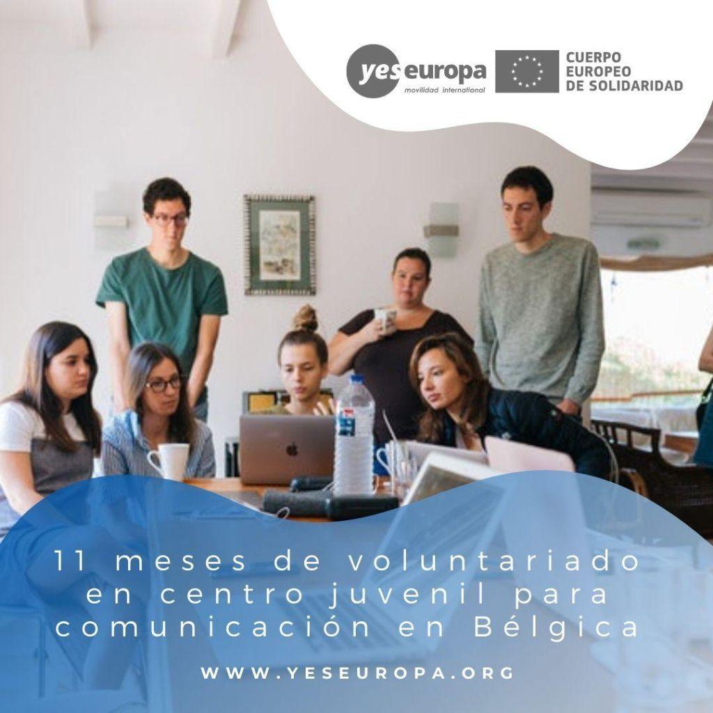 Redes voluntariado Bélgica