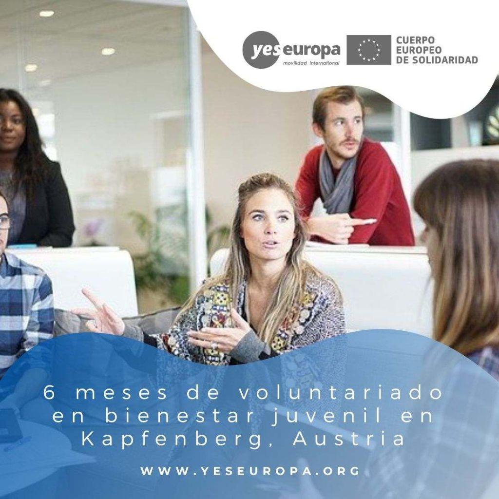 Redes voluntariado Kapfenberg, Austria