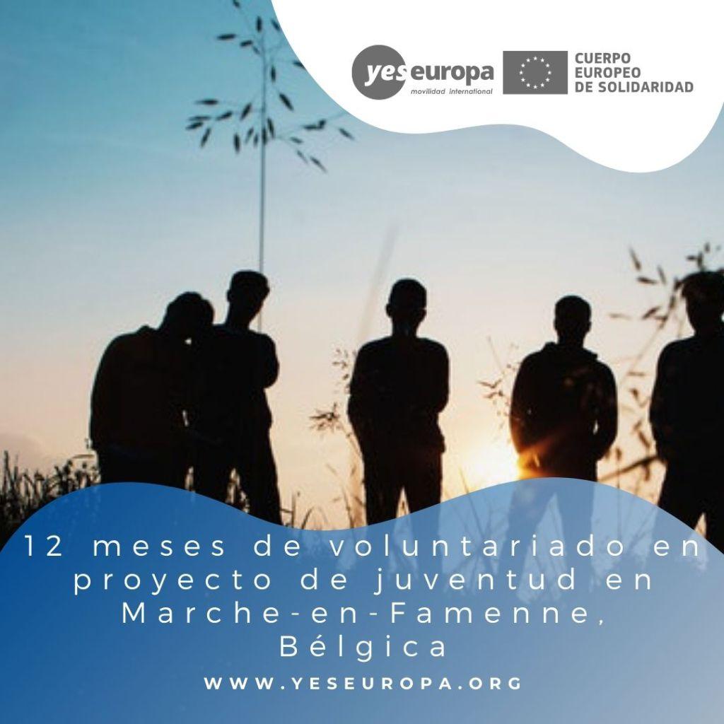 Redes voluntariado Marche-en-Famenne, Bélgica