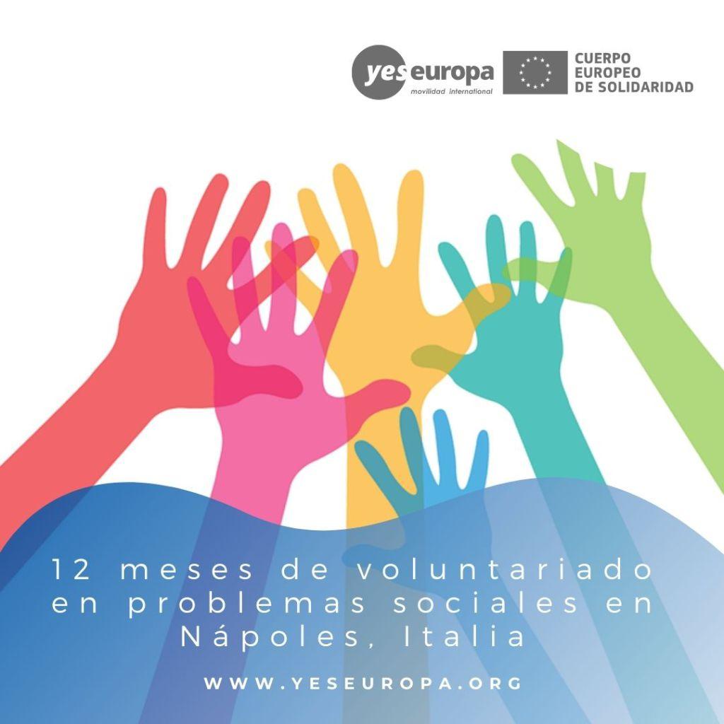 Redes voluntariado Nápoles, Italia
