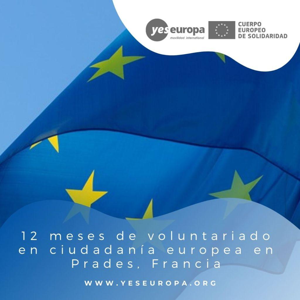 Redes voluntariado Prades, Francia