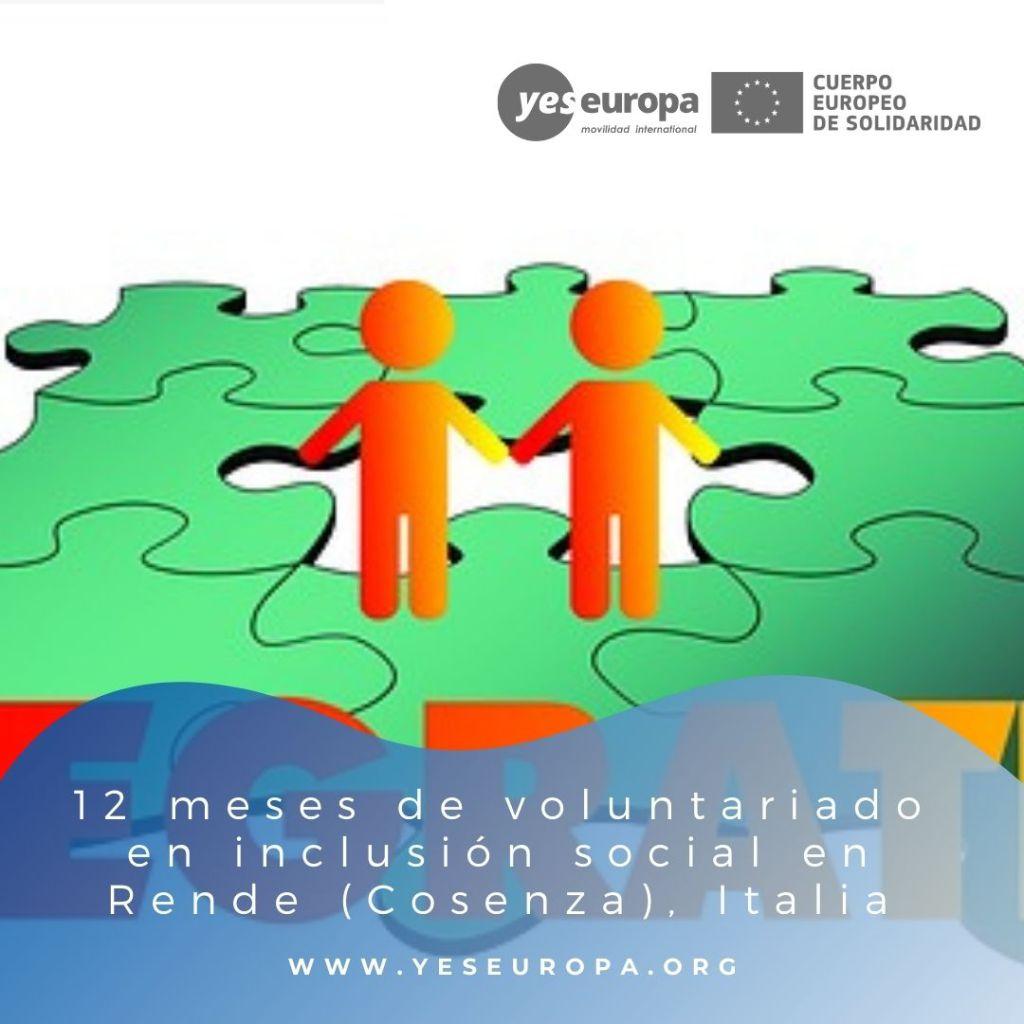 Redes voluntariado Rende (Cosenza), Italia